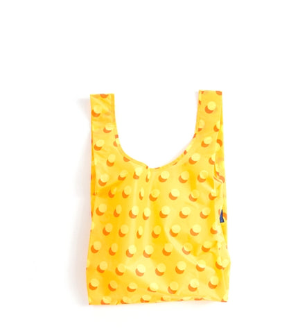 BAGGU Yellow Disco Dot Reusable Bag - Myth & Symbol