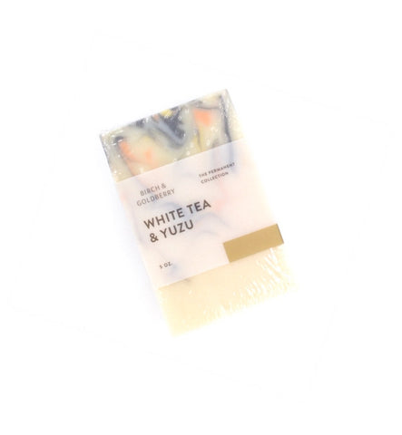 Birch & Goldberry White Tea & Yuzu Soap - Myth & Symbol - 1