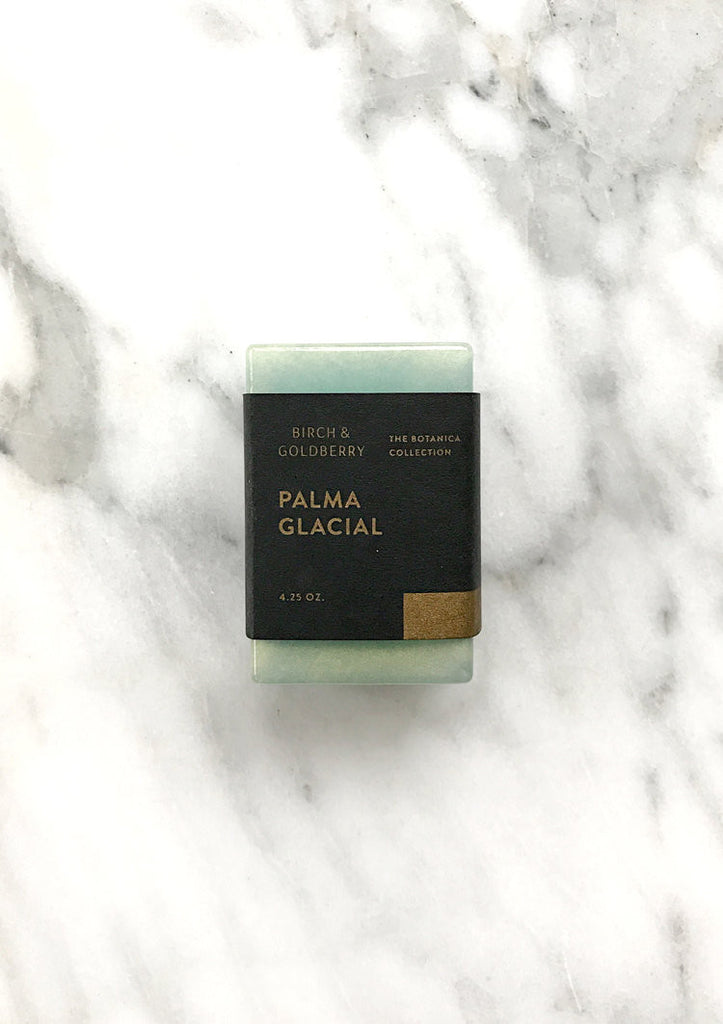 Birch & Goldberry Palma Glacial Botanica Soap