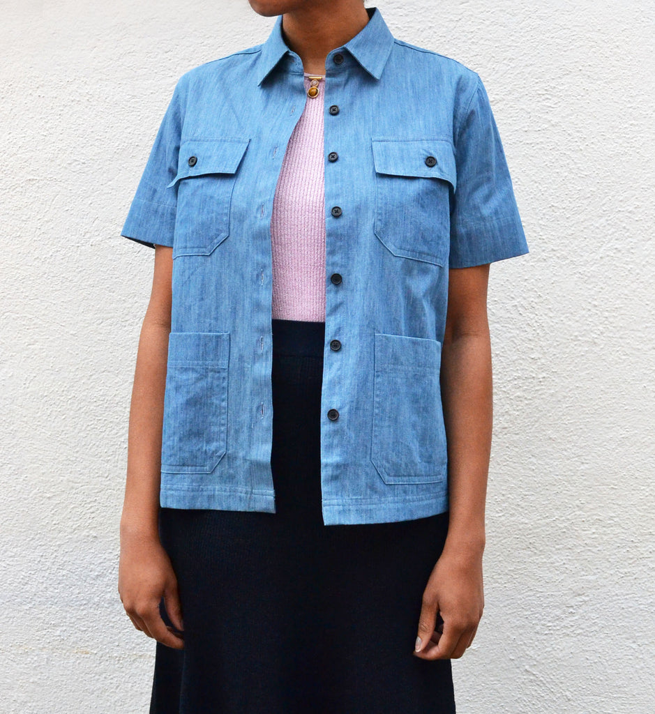 Demylee Denim Lucy Top - Myth & Symbol - 2