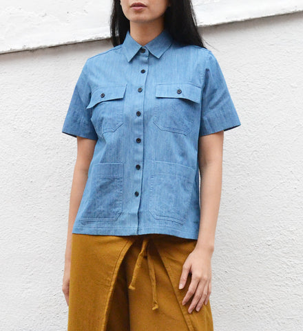 Demylee Denim Lucy Top - Myth & Symbol - 1