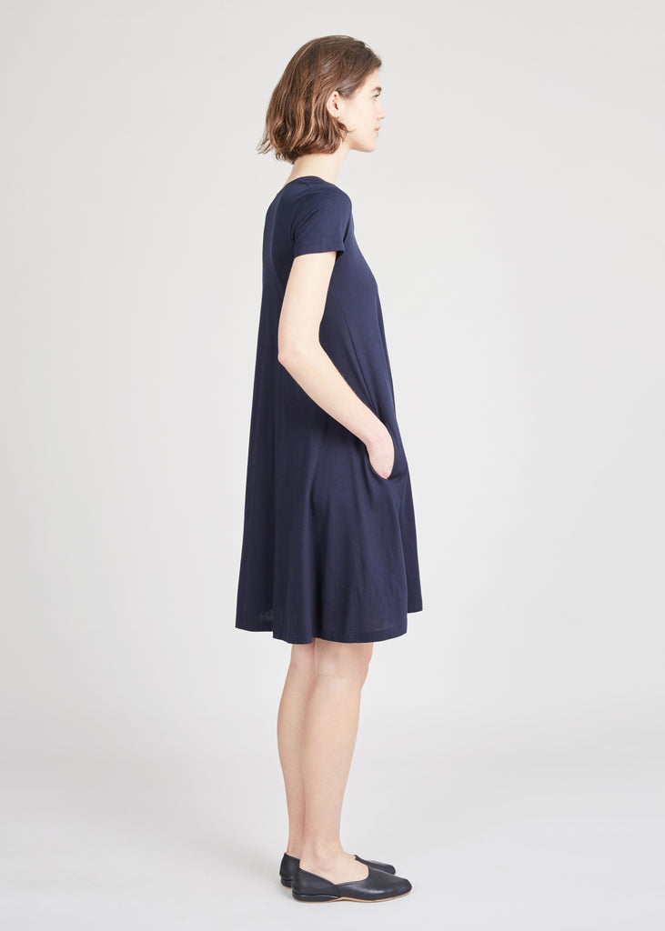 Demylee Navy Lori Swing Dress - Myth & Symbol
