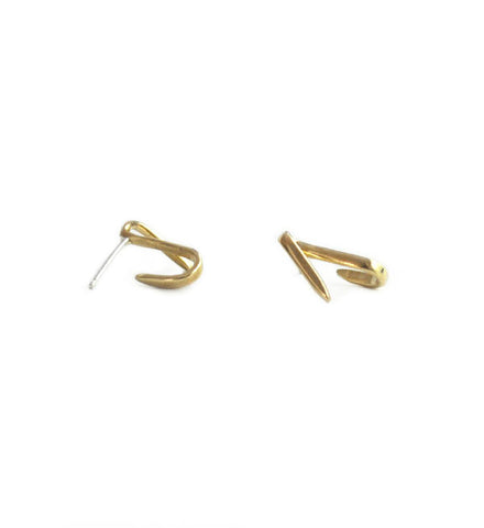 Fay Andrada Brass Viiva Earrings - Myth & Symbol - 1