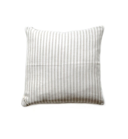 Fog Linen Natural Stripe Cushion Cover - Myth & Symbol - 1