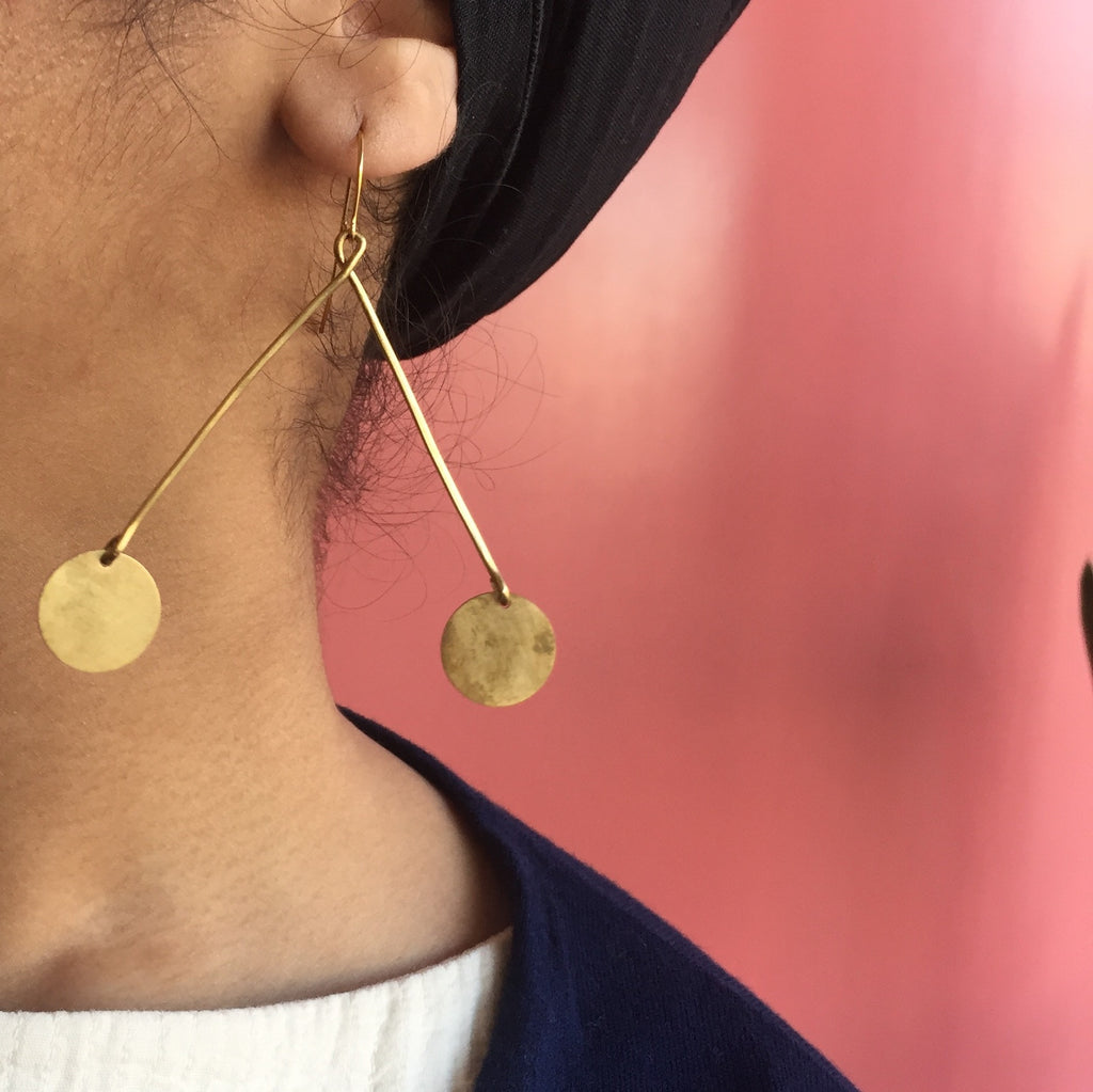 Earth Reverie Mobile Earrings