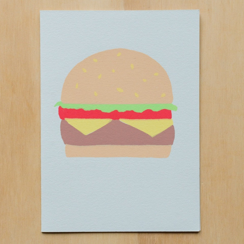 Gold Teeth Brooklyn Cheeseburger Card - Myth & Symbol - 2