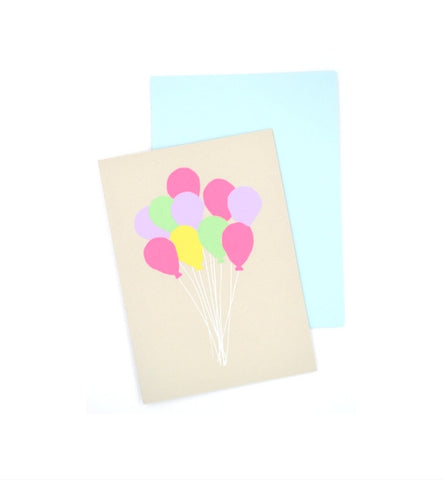 Gold Teeth Brooklyn Balloons Card - Myth & Symbol
