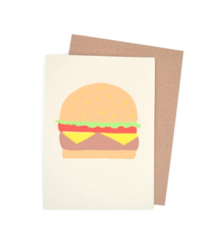 Gold Teeth Brooklyn Cheeseburger Card - Myth & Symbol - 1