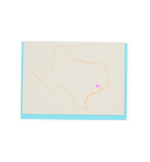 Gold Teeth Brooklyn I Heart Houston Card - Myth & Symbol - 2