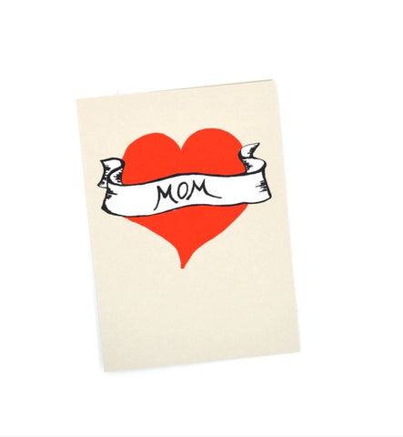 Gold Teeth Brooklyn Mom Tattoo Card - Myth & Symbol