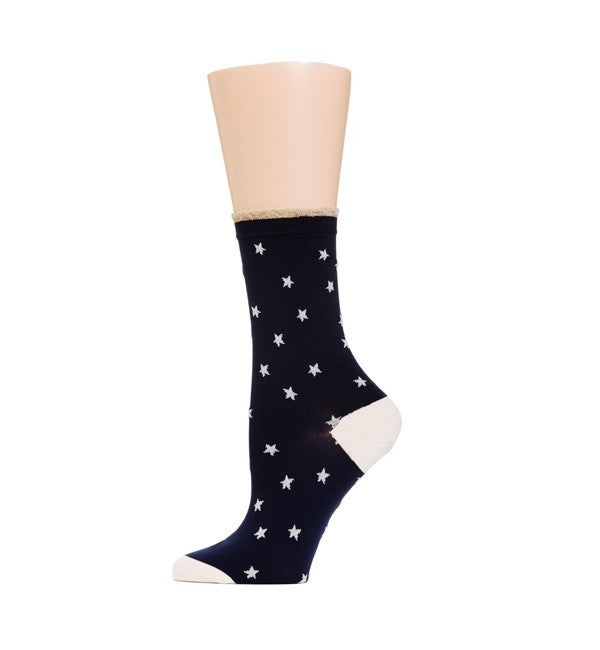 Hansel from Basel Twinkle Nylon Crew Socks - Myth & Symbol - 2