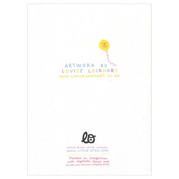 Little Otsu x Louise Lockhart Birthday Shop Card - Myth & Symbol - 4