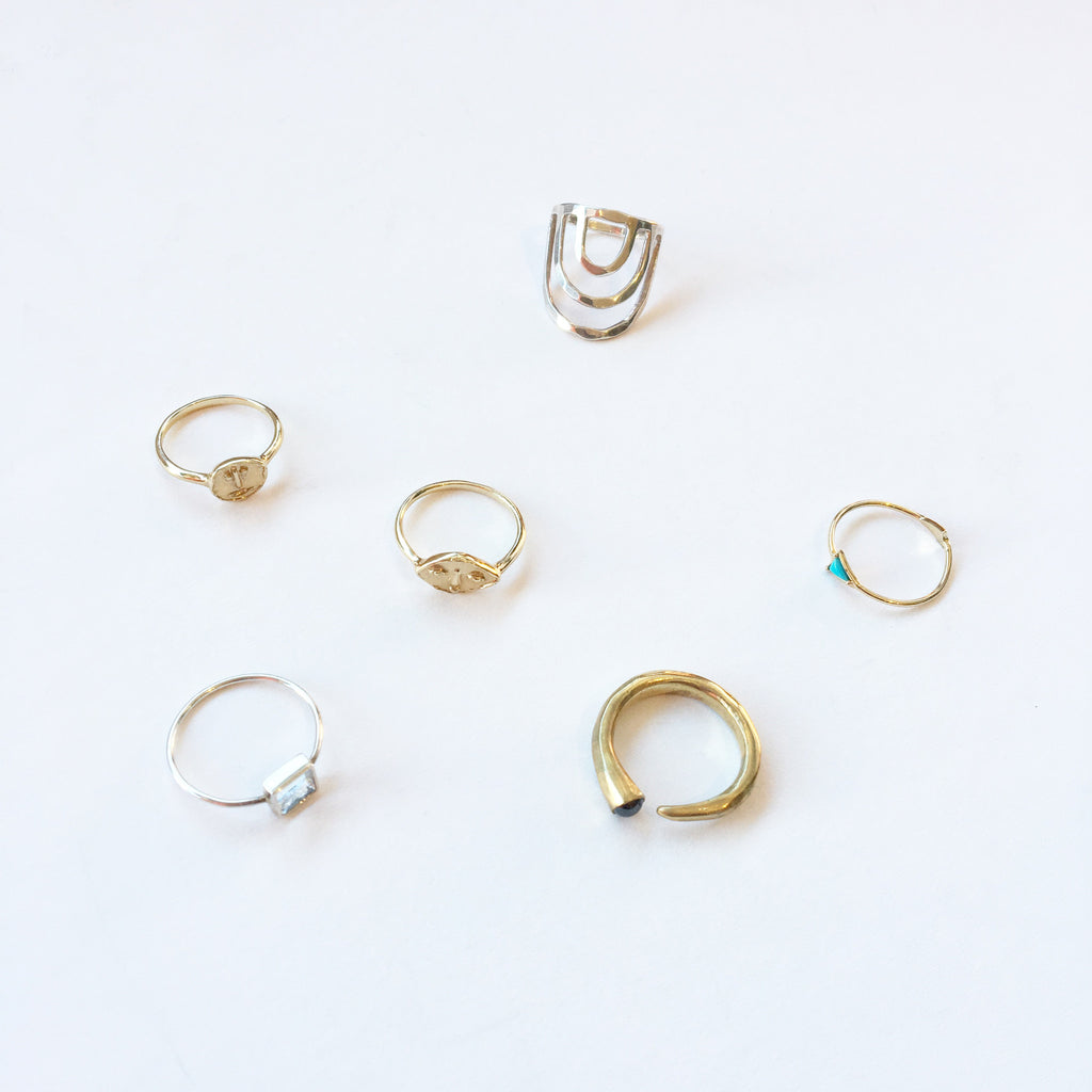 Dream Collective Gold Jacques Cousteau Ring