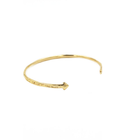 Odette Brass Arrow Cuff - Myth & Symbol - 1