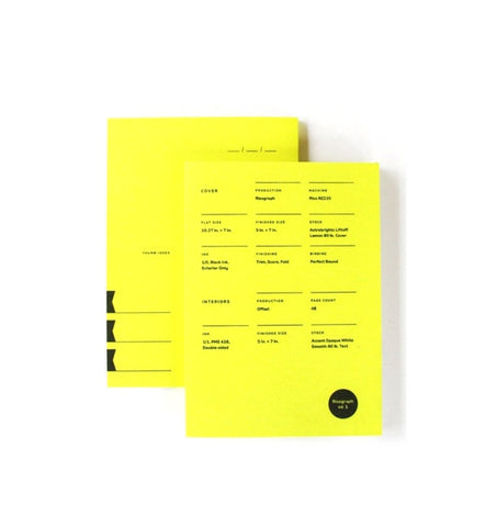 Print Prologue Risograph Notebook Edition 1 - Myth & Symbol - 1