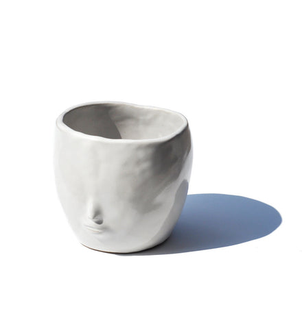 Rami Kim Face Pot Solid White - Myth & Symbol - 1