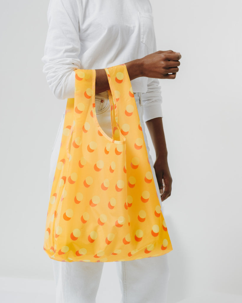 BAGGU Yellow Disco Dot Reusable Bag