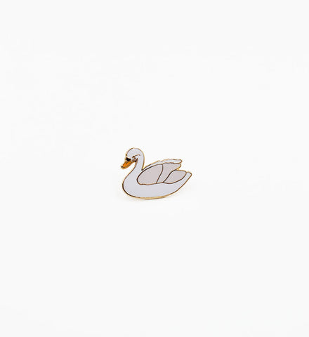 Tiny Deer Studio Swan Pin - Myth & Symbol - 1