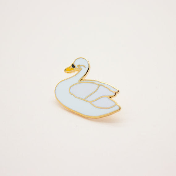 Tiny Deer Studio Swan Pin - Myth & Symbol - 2