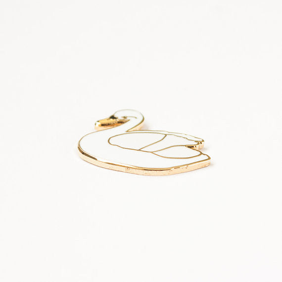 Tiny Deer Studio Swan Pin - Myth & Symbol - 3