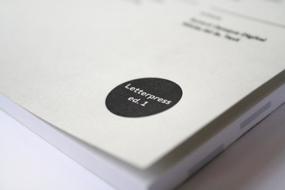 Print Prologue Letterpress Notebook Edition 1 - Myth & Symbol - 2