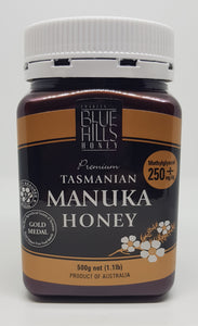 Blue Hills Manuka Honey Methylglyoxal 250+mg/kg