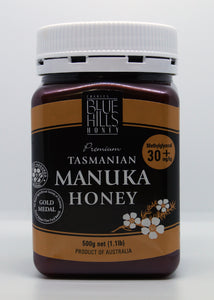 Blue Hills Manuka Honey Methylglyoxal 30+mg/kg