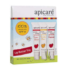 Apicare Trio of Lip Butters