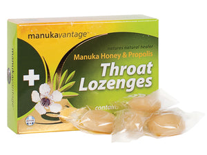 Manuka Vantage Throat Lozenges 16pk