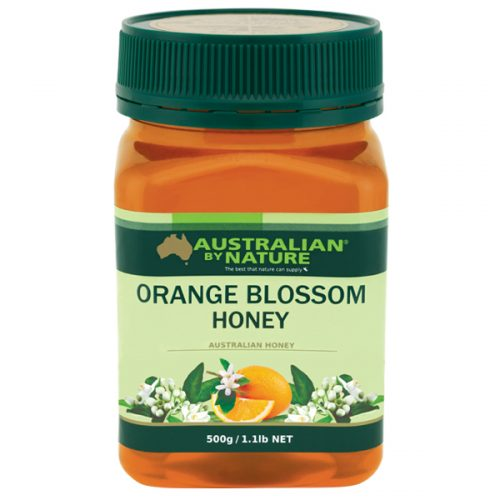 ORANGE BLOSSOM HONEY 500G