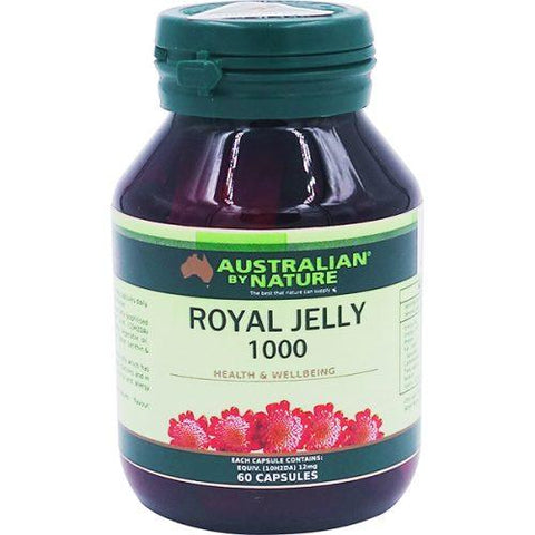 ROYAL JELLY 1000MG 60 Capsules - Expiry 09/18