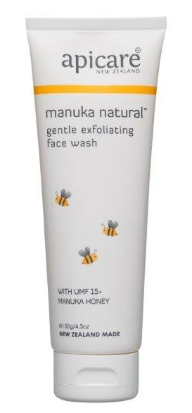 Apicare Manuka Natural Exfoliating Face Wash 130g