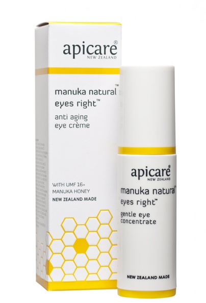 Apicare Manuka Natural Eyes Right Anti-Aging Eye Crème 30g