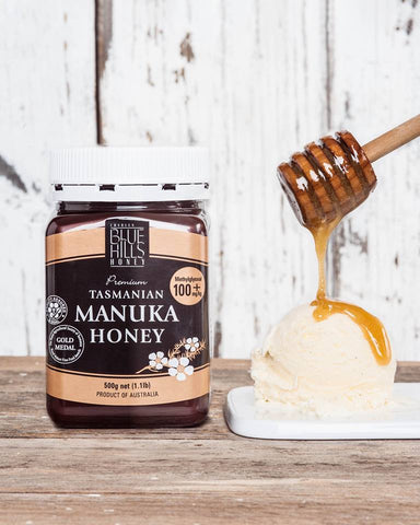 Blue Hills Manuka Honey Methylglyoxal 100+mg/kg