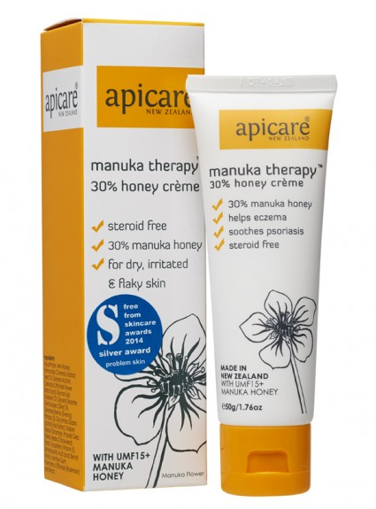 Apicare Manuka Therapy 30% Honey Crème 50g