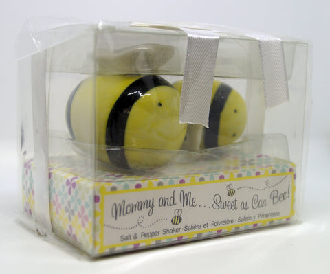 Bee Salt & Pepper Shakers 'Mommy & Me'