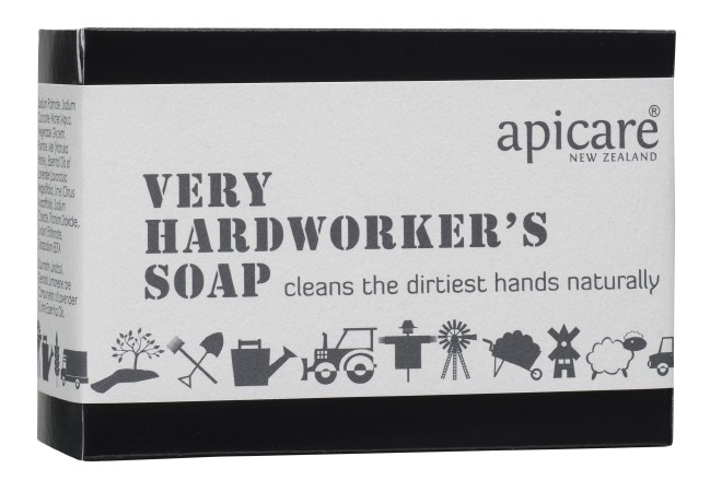 Apicare Very Hardworkers Soap 130g