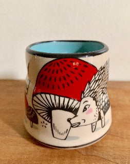 Small- Lucky Hedgehog Cup