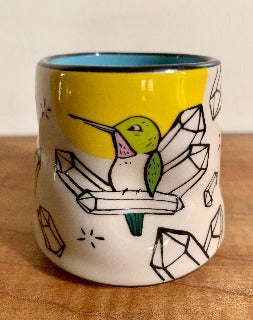 Small- Lucky Hummingbird cup