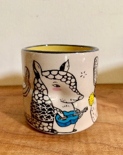 Medium- Lucky Armadillo cup