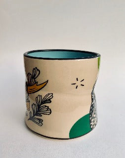 Medium- Lucky Burrowing Owl cup