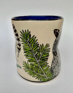 XL Large- Lucky Great Horned Owl cup