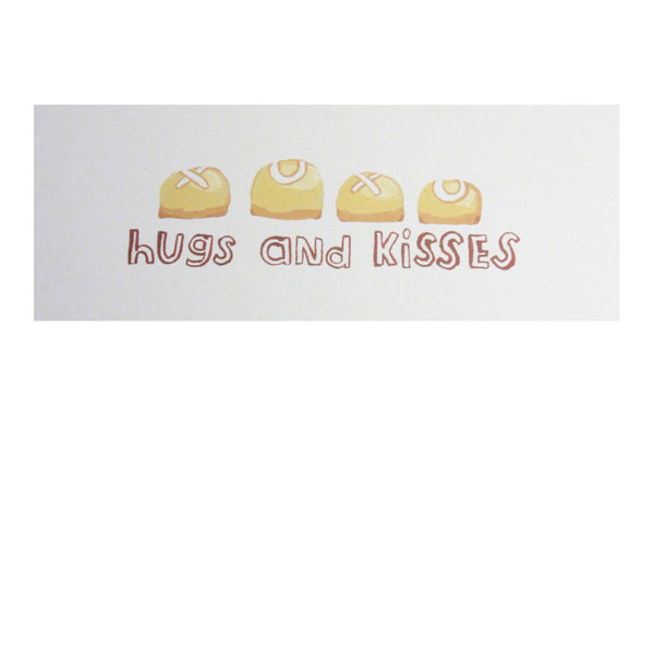 'Hugs and Kisses' Card