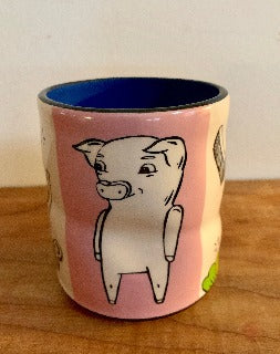 Large- Lucky Pig Cup