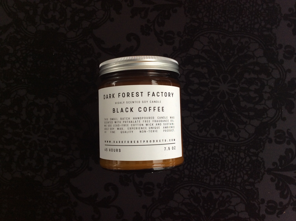 Black Coffee Soy Candle