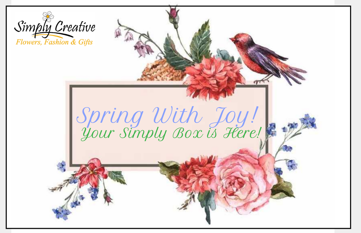 Simply Creative's April Simply Subscription Box Revealed!