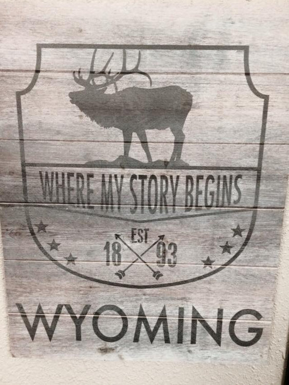 Wyoming where my story begins
