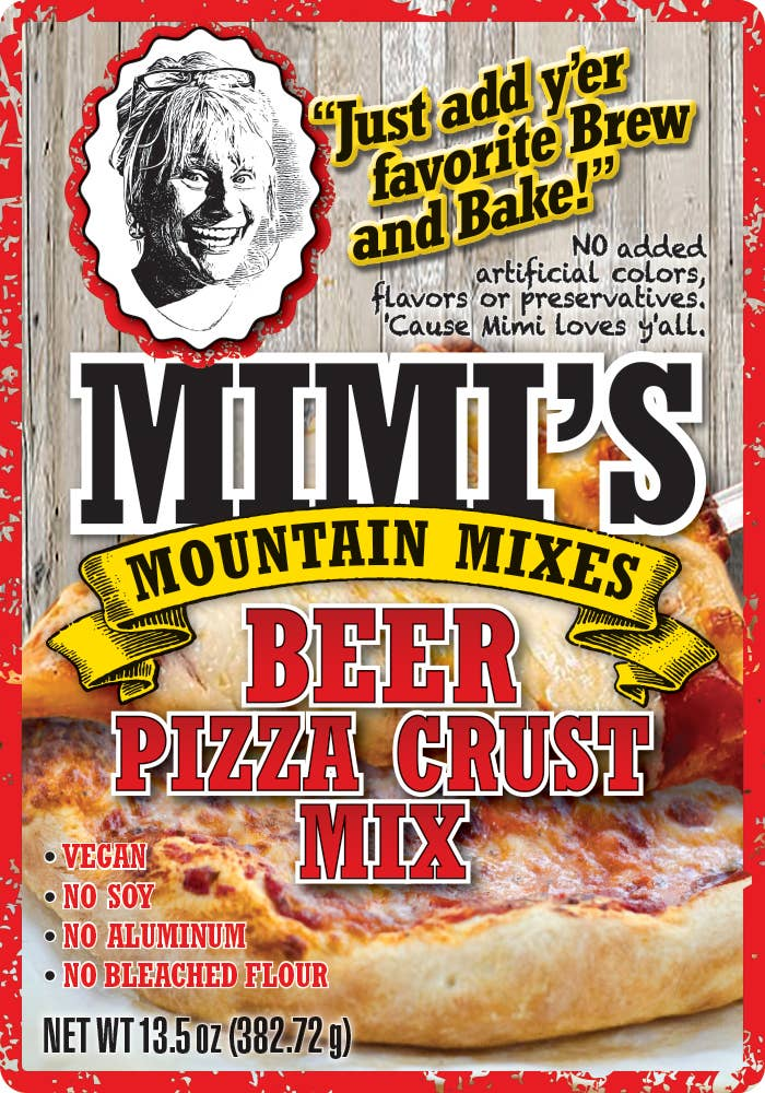 BEER PIZZA CRUST MIX