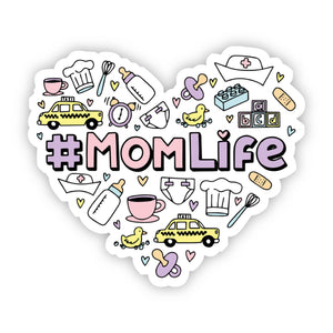 #MomLife Sticker