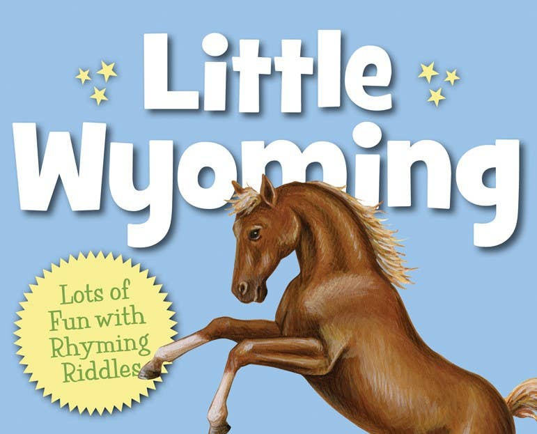 Little Wyoming toddler board book
